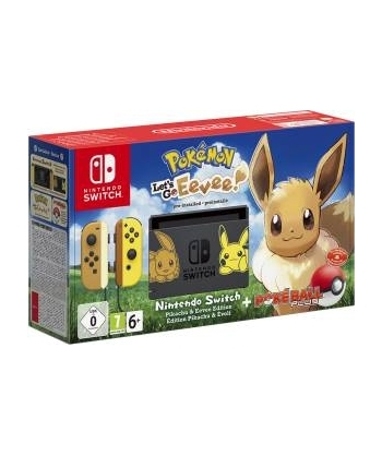 Switch Console Pikachu &...