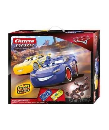 Carrera GO!!! Los coches 3...