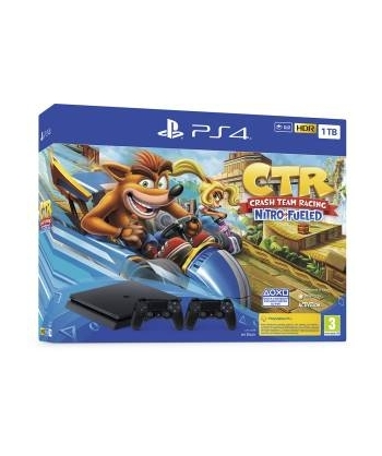 PS4 Consola de 1 tb, Negro...