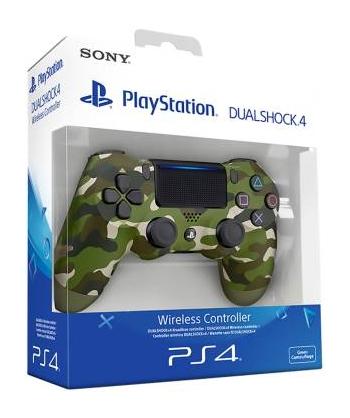 PS4 Dualshock 4 Green Camo V2