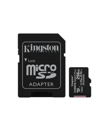 Micro SD Kingston de 256 gb...